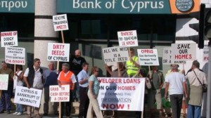 Protest Cipru