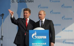 Putin - gazprom