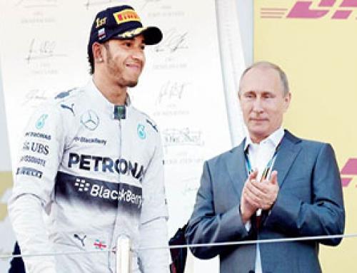 Președintele Vladimir Putin între Siria și Formula 1