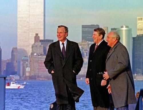 George H.W. Bush, Mihail Gorbaciov şi Summitul de la Malta din 1989