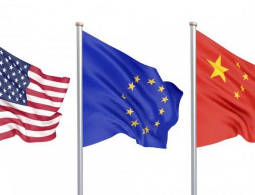 """Europa, """"zdrobită"""" între SUA şi China"""