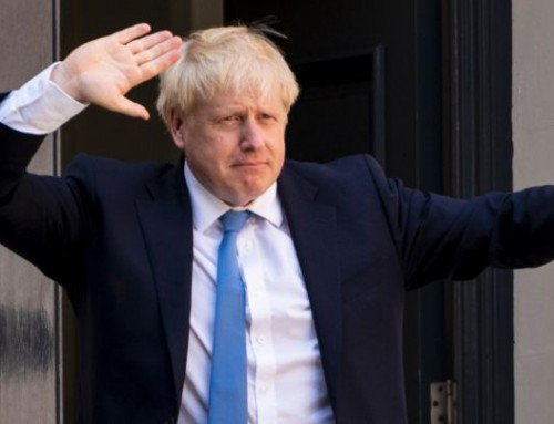 "Boris Johnson – ""The Gambler""/Jucătorul"