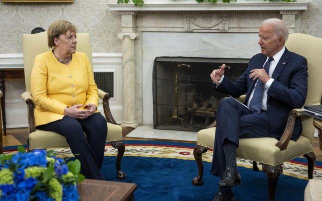 Vizita Angelei Merkel la Casa Albă pune capăt ostilităţilor din era Trump, dar deriva transatlantică continuă